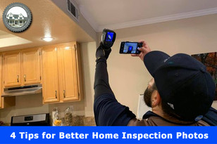 4 Tips for Better Home Inspection Photos.