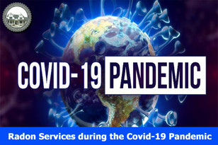 Radon Services during the Covid-19 Pandemic.