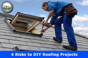 4 Risks to DIY Roofing Projects.