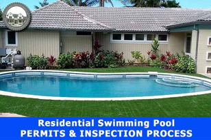 Residential Swimming Pool PERMITS & INSPECTION PROCESS.