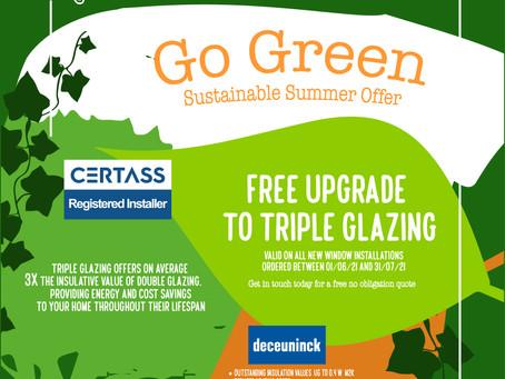 Triple Glazing Summer Offer