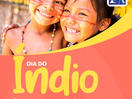 Em comemoração ao Dia do Indio - 19 de abril, vamos fazer juntos um Artesanato indígena?