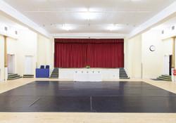 Main hall stage