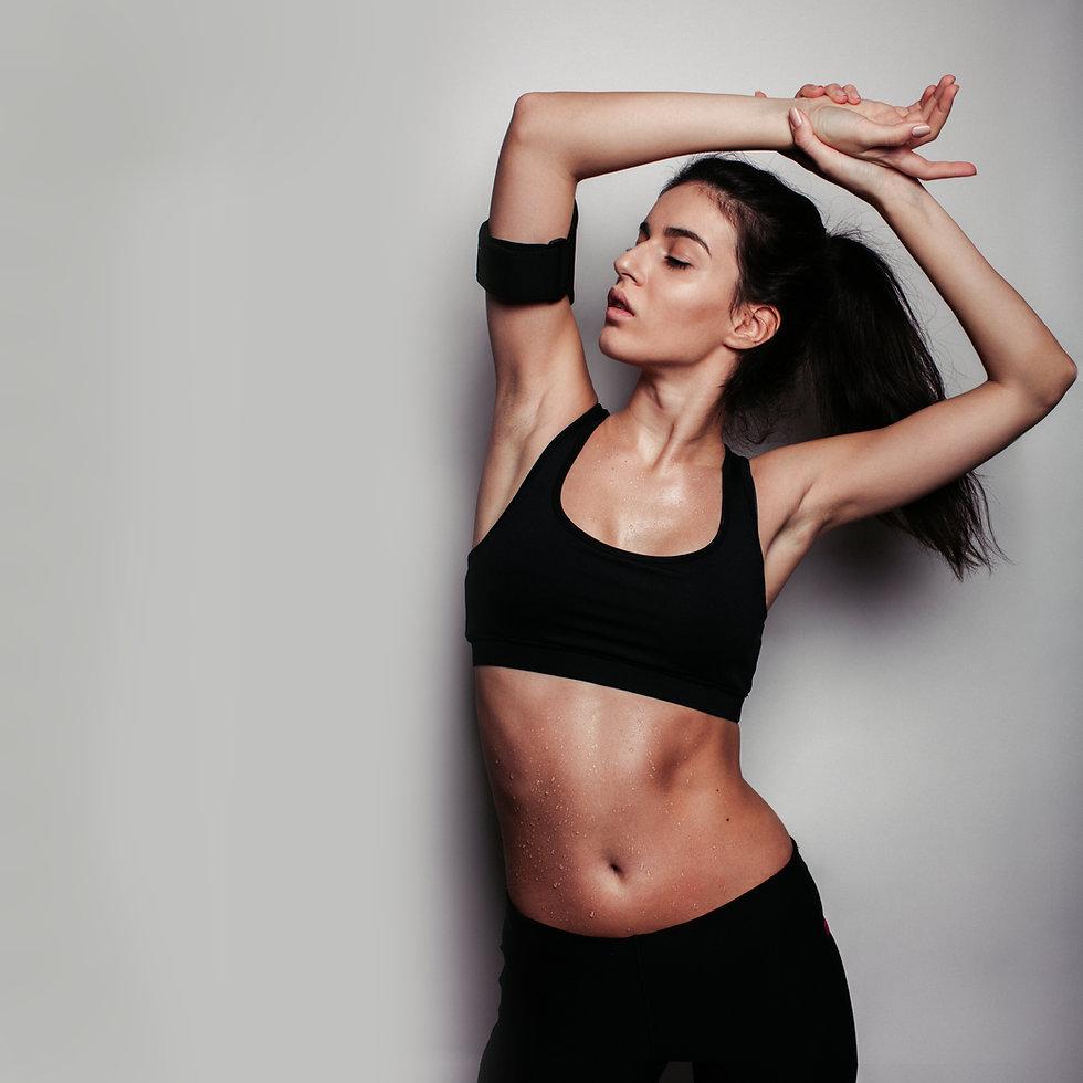 atleta de la muchacha