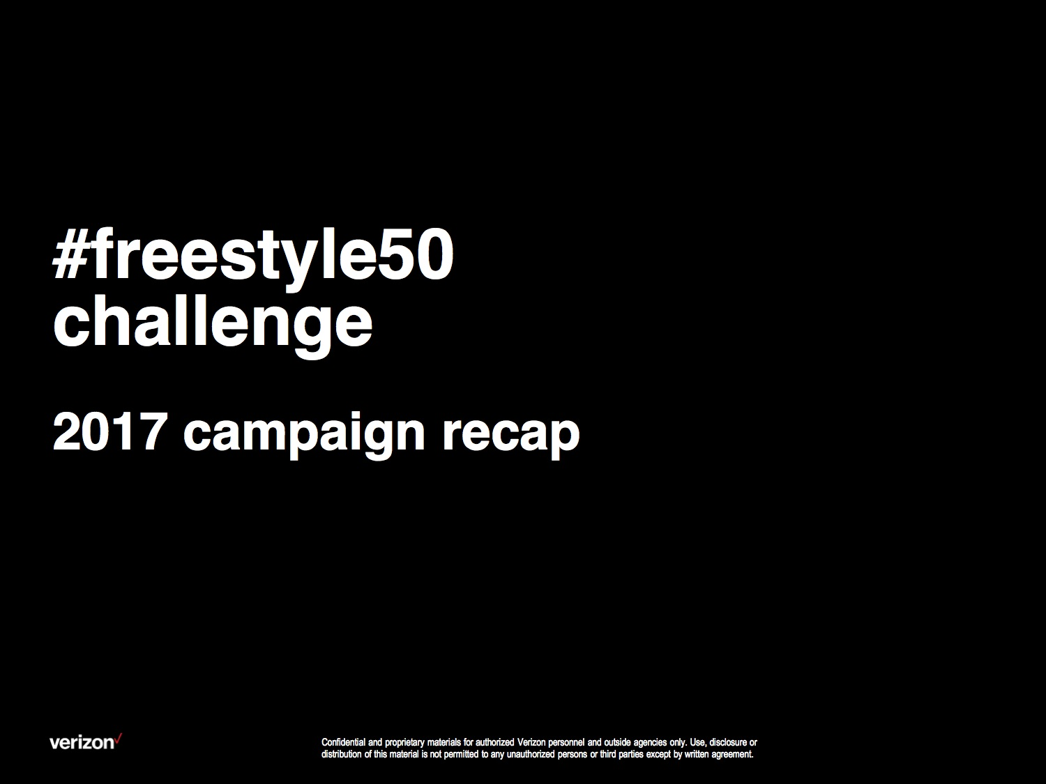 #freestyle50challange 2017 Campaign