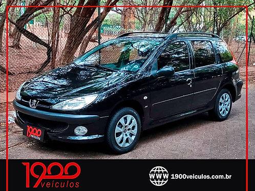 Peugeot 206 SW Presence 1.4 Flex 2008