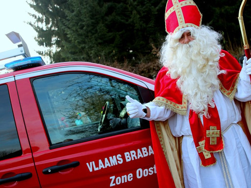 6 december 2016: De Sint op bezoek!