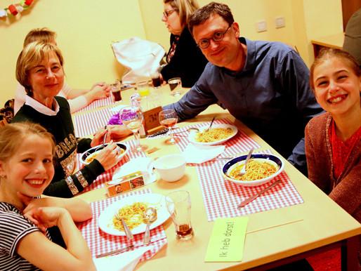 Spaghetti-polonaise: groot succes