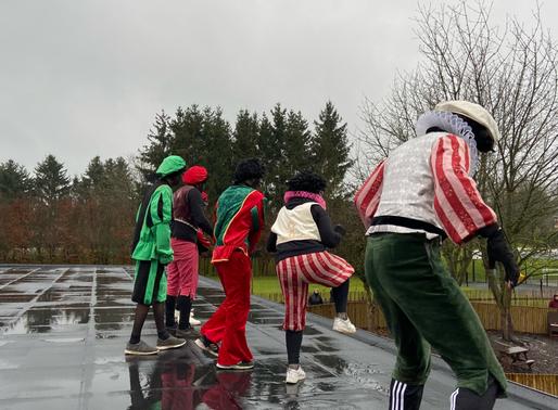 Dansende zwarte pieten en een Sint die zag dat er enkel brave kindjes zijn in het Groene Dal.