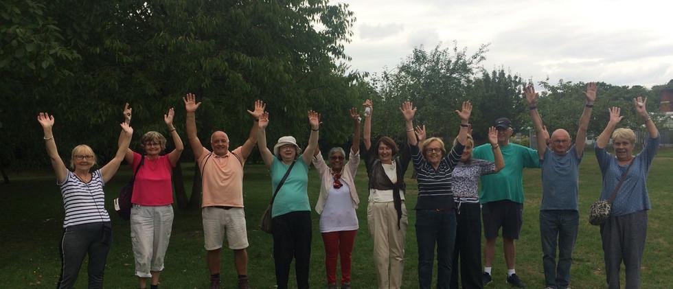 NordicFit+ Nordic Walking group in Wythe