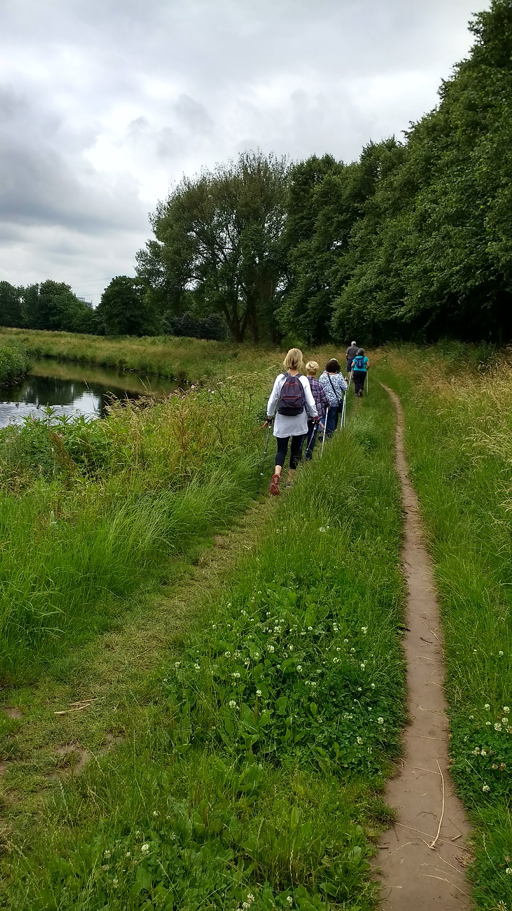 Nordic Walking in Didsbury, along the River Mersey