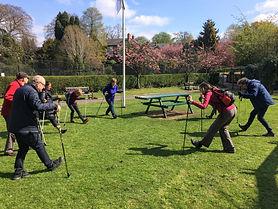 NordicFit+ Nordic Walking group in Fletc
