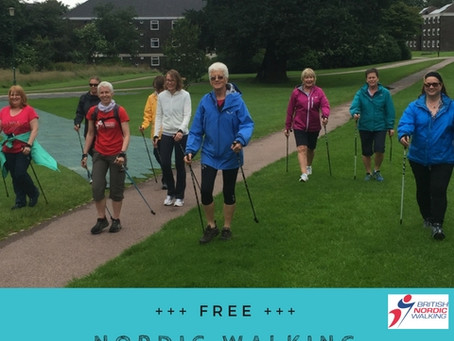 January Nordic Walking Sessions in Manchester