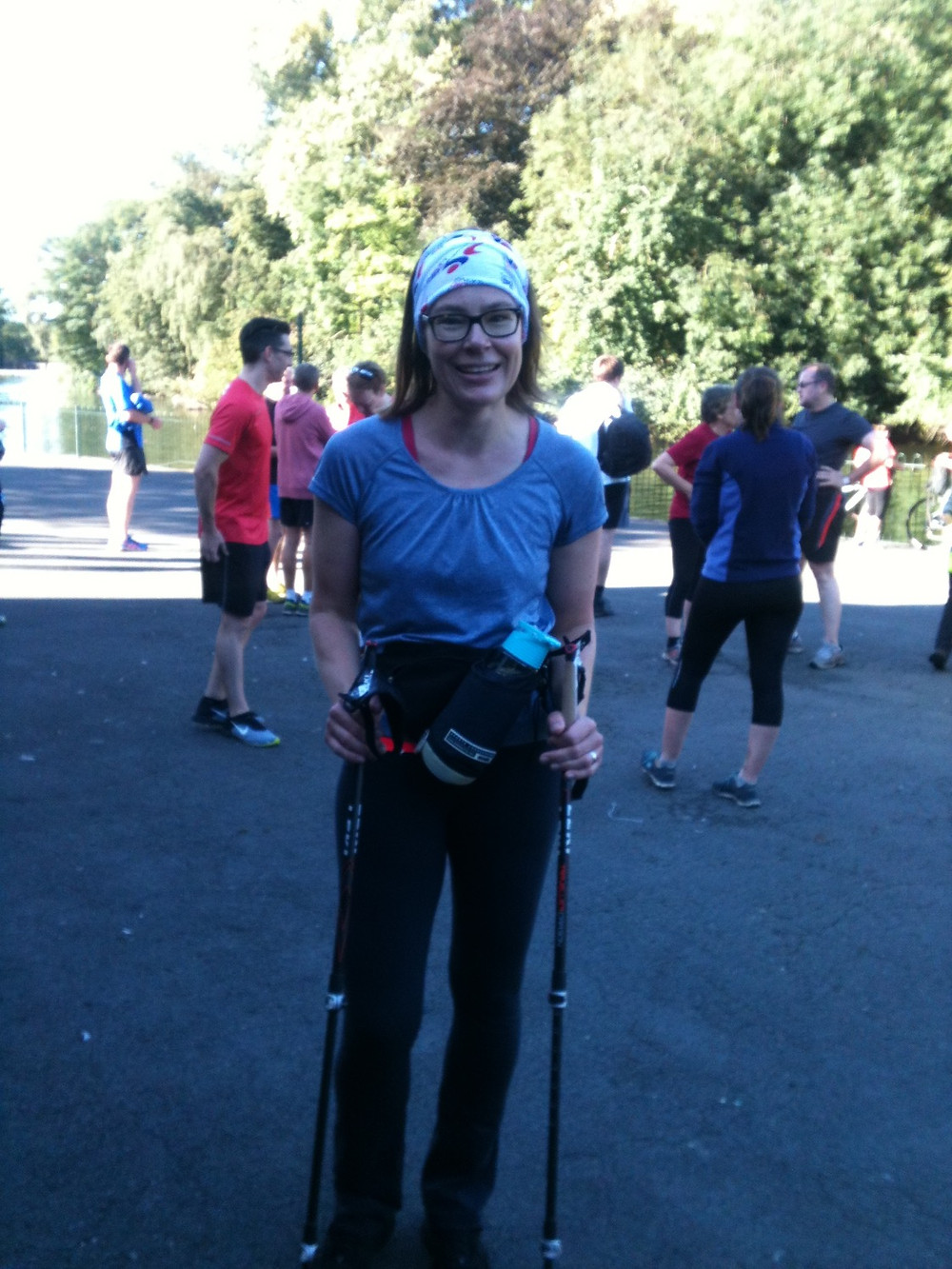 Nordic Walking South Manchester parkrun
