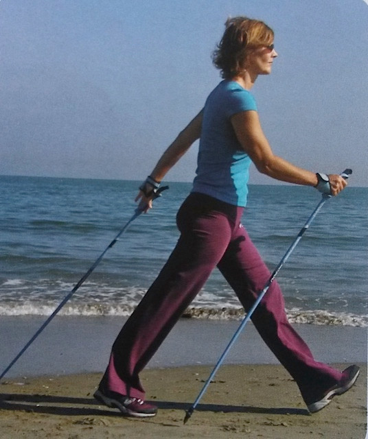 Nordic Walking posture and arm swing