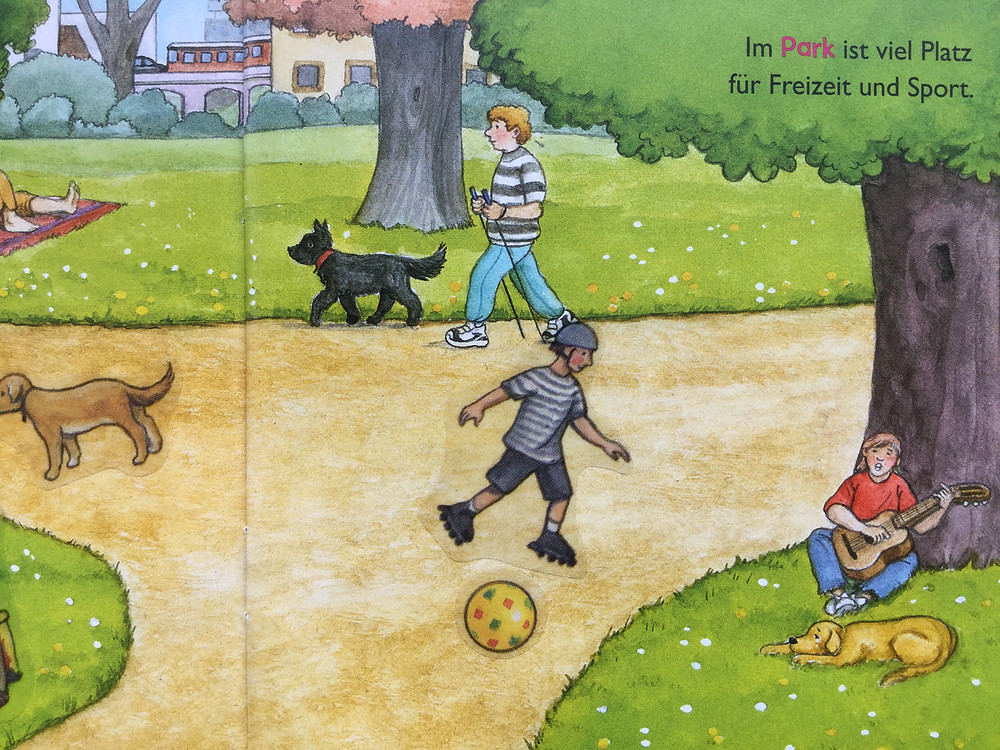 Nordic Walking in German Picture Books