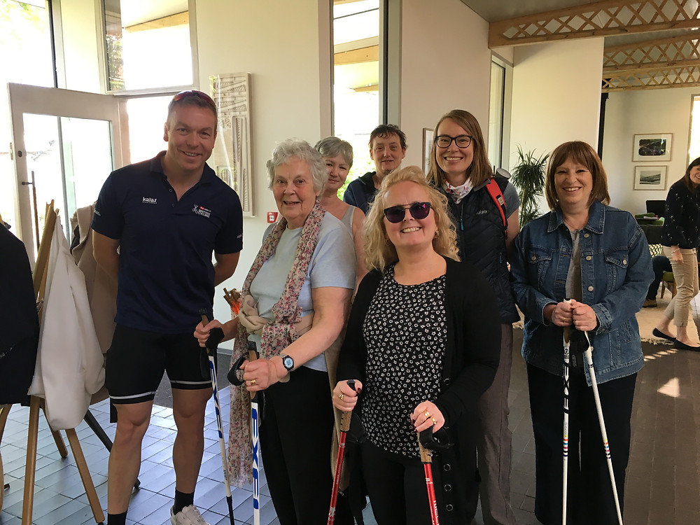 NordicFit+ Maggie's Manchester Nordic Walking group