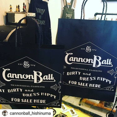 Cannon Ball Nakazaki-cho bag