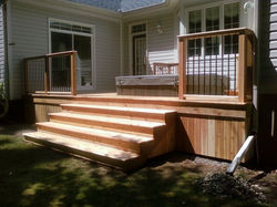 After, Hot Tub Set in Deck