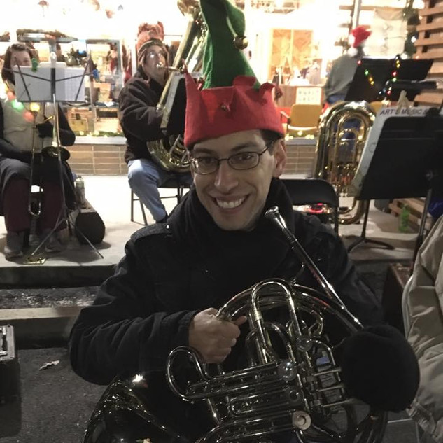 Elf Justin on French Horn