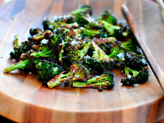 """Let Food Be Thy Medicine"" -- Choppin' Broccoli"