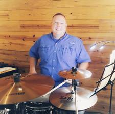 Matt on drumset