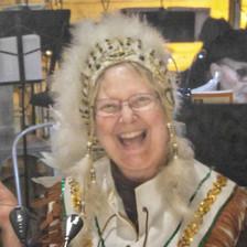 Linda on Flute