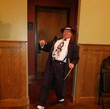 William danced to Zoot Suit Riot!