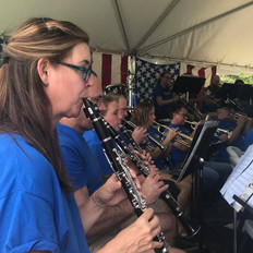 Clarinets and trumpets in harmony