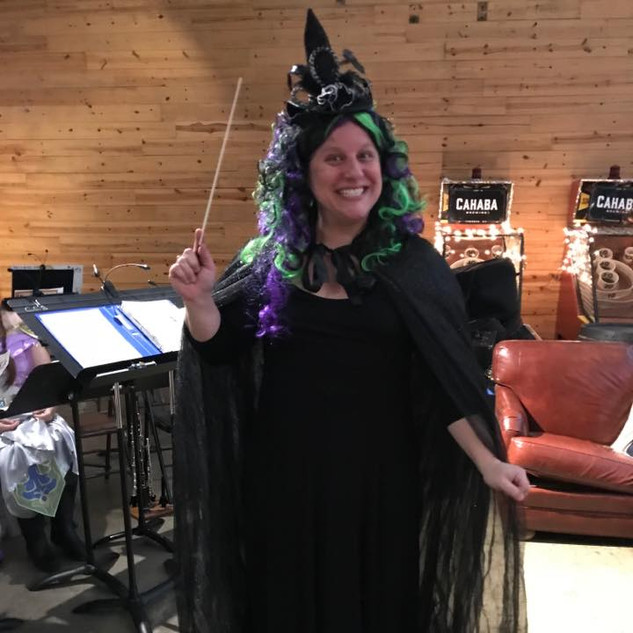 A witchy conductor