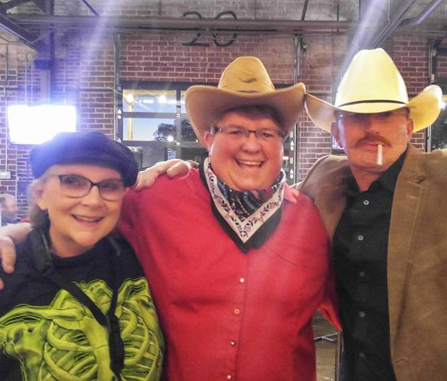 Debby, Janet, and Alan Jackson (Raymond)