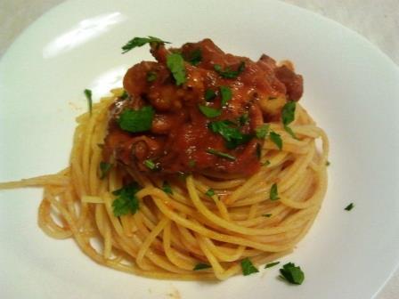 Spaghetto al polpo