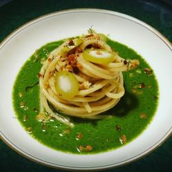 Spaghetto Gragnano con colatura di