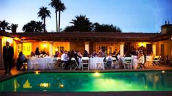 Catering per festa a bordo piscina