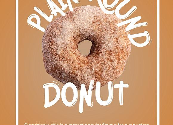 Plain Donut Doz