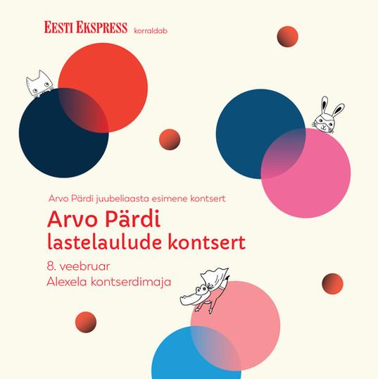 Arvo Pärt lastelaulude kontsert