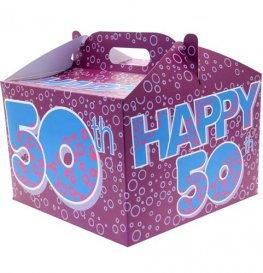Happy 50th Balloon Box