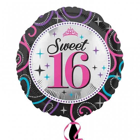 """Sweet 16 - Pink 18"""""""