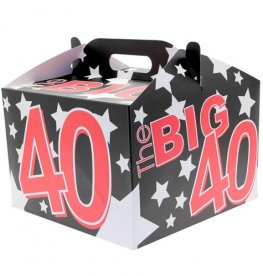 The Big 40 Birthday Balloon Box