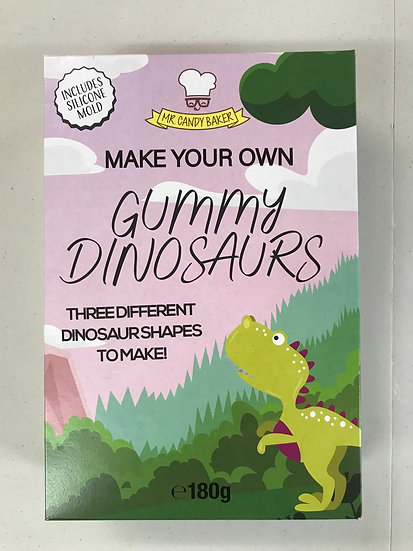 Make your own Gummy Dinosaurs Kit