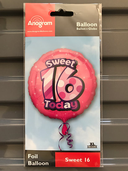 """copy of Sweet 16 Today - Pink 18"""""""