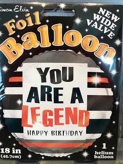 You are a legend - Foil