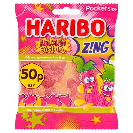 Haribo Zing - Rhubarb & Custard