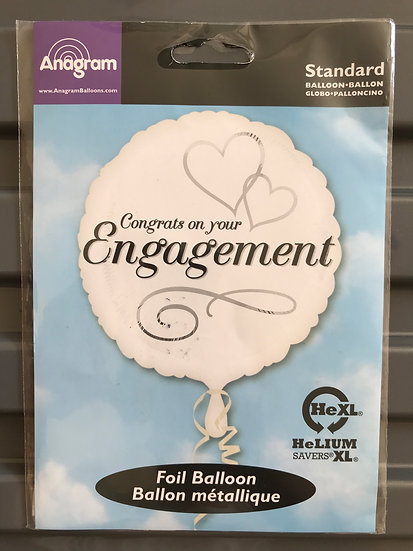 Congrats on your Engagement Balloon 18""