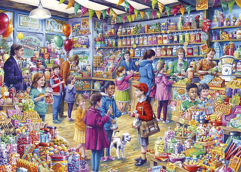 The Old Sweet Shop (1000)