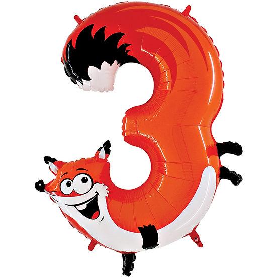Zooloons -  Fox (Three)