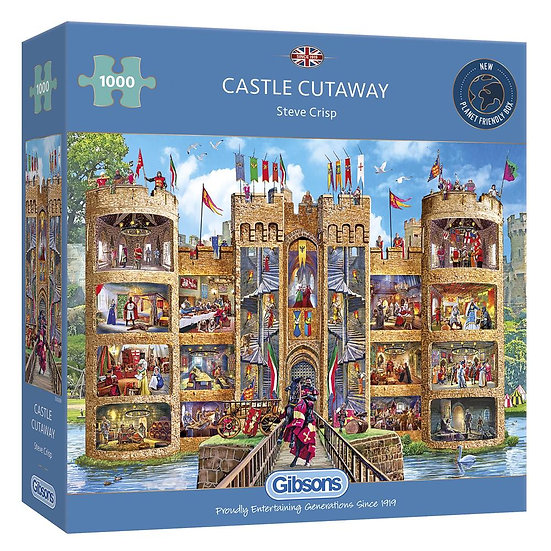 Castle Cutaway (1000)