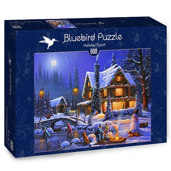 Bluebird - Holiday Spirit (500)