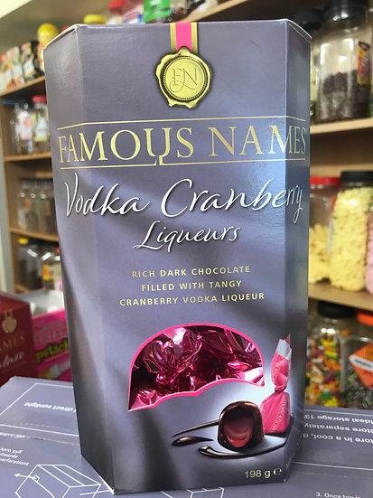 Famous Names - Vodka Cranberry Liquers