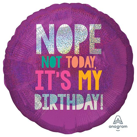 "Birthday struggle 18"" Foil"